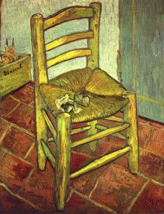 Vincent Van Gogh, Chair, National Gallery, London