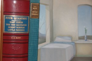 T. S. Eliot First Editions with Painting by Barbara Kassel