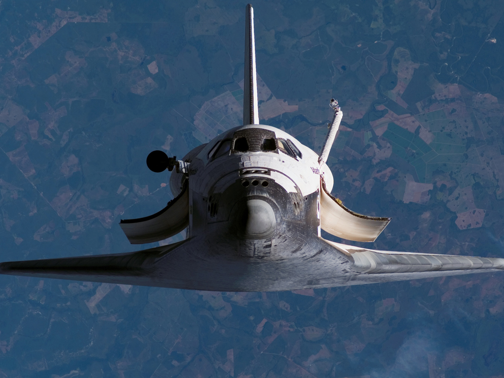Last Flight of the Space Shuttle | A Husk of Meaning